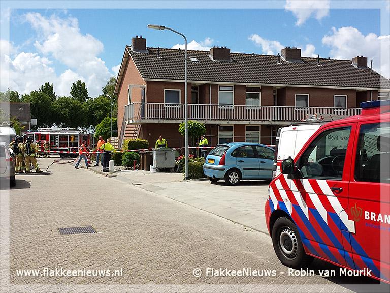 Foto behorende bij Woningen in Oude-Tonge ontruimd
