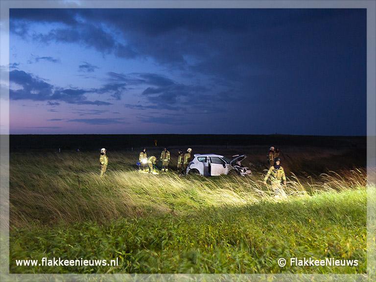 Foto behorende bij Ongeval op N57 bij Ouddorp