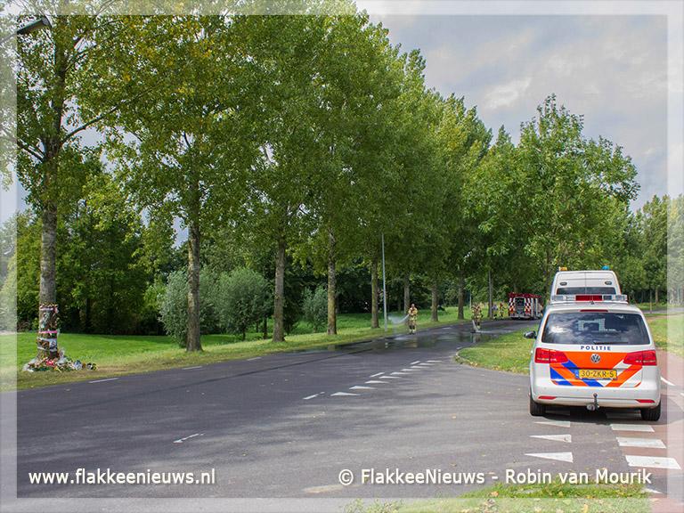 Foto behorende bij Plaatselijk onderzoek naar dodelijk ongeval Middelharnis
