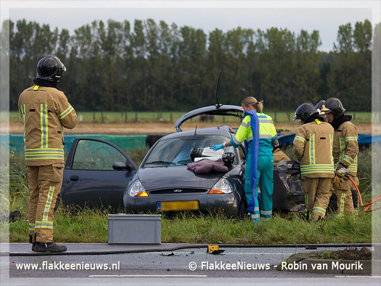 Foto behorende bij Gewonde bij ongeval Zuidelijke Randweg Middelharnis