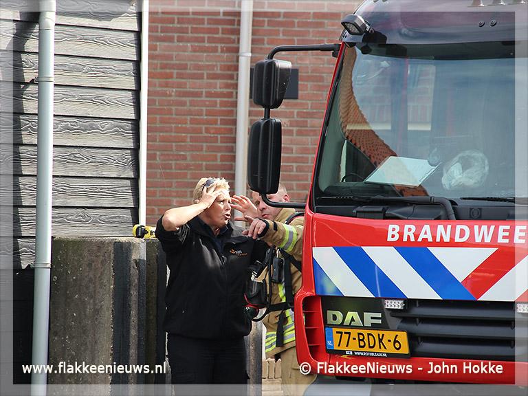 Foto behorende bij Molen in brand bij eilandelijke brandweerwedstrijd
