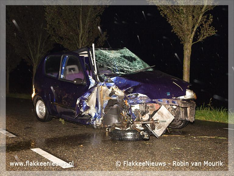 Foto behorende bij Eenzijdig ongeval bij Nieuwe-Tonge