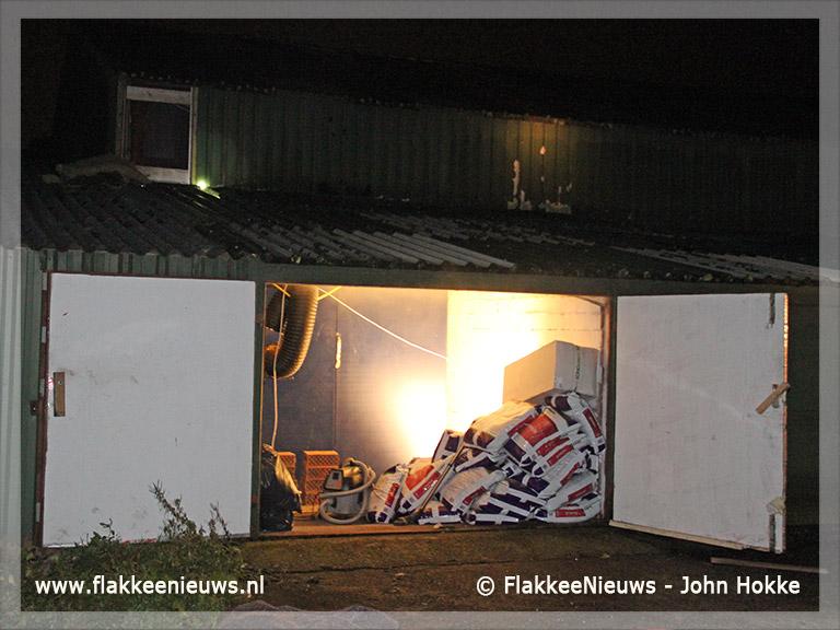 Foto behorende bij Middelbrand bij agrarisch bedrijf Ooltgensplaat