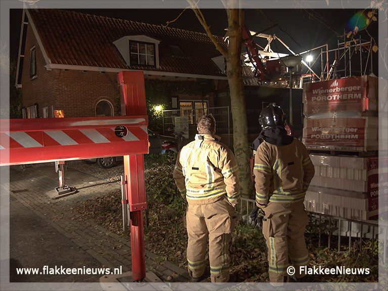 Foto behorende bij Bouwvakker gewond na val van hoogte