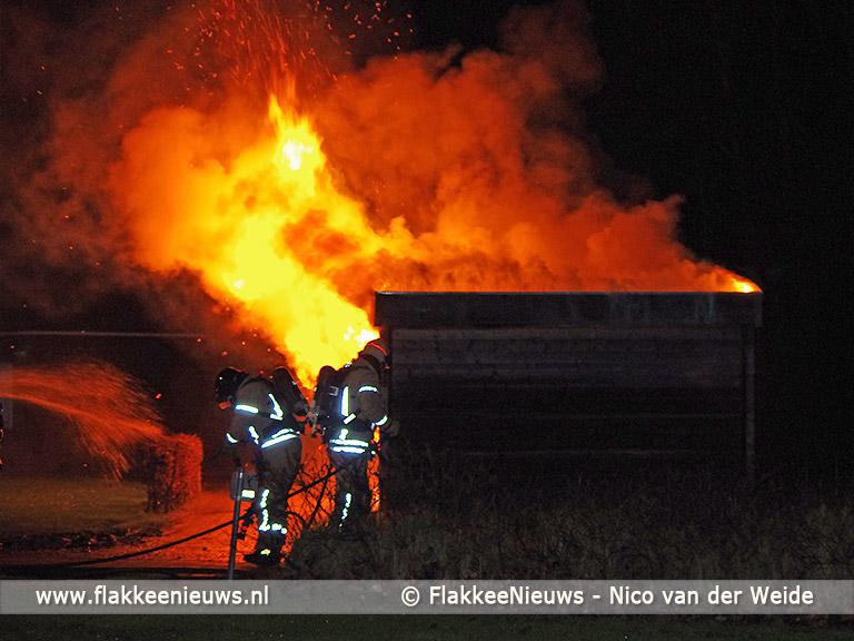 Foto behorende bij Kleine brand bij Hernesseroord