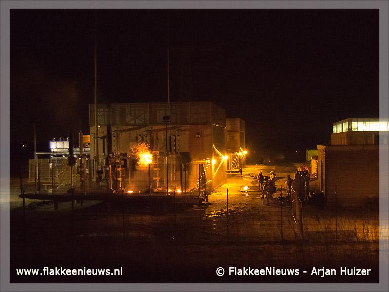 Foto behorende bij Brand bij verdeelstation Middelharnis