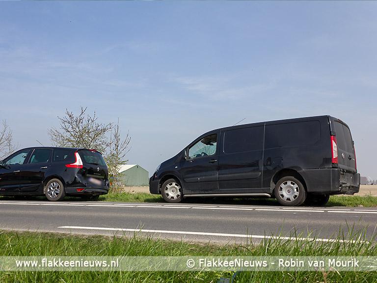 Foto behorende bij Aanrijding met vier auto