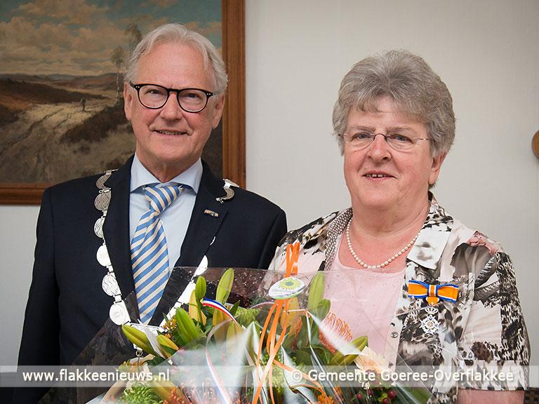 Foto behorende bij Zes inwoners van Goeree-Overflakkee Koninklijk onderscheiden