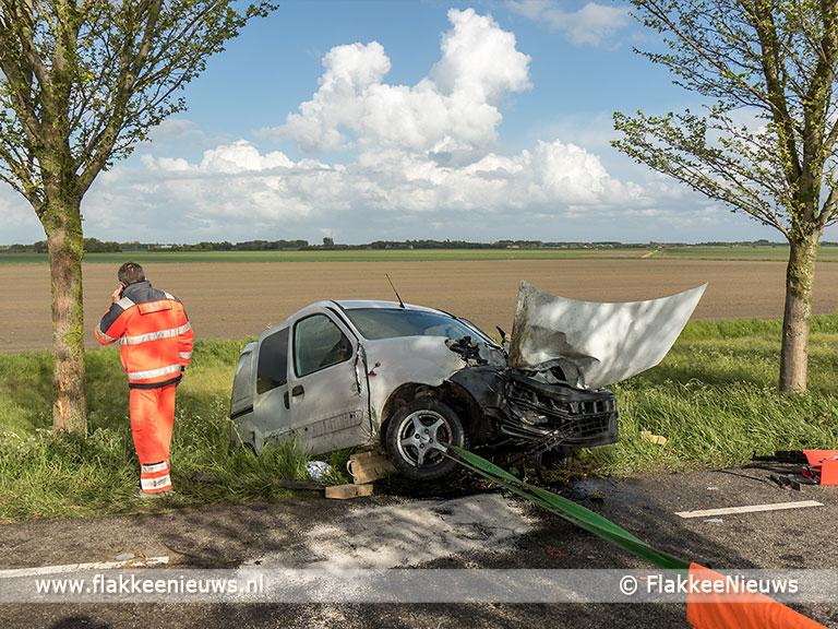 Foto behorende bij Ernstig ongeval op Oudelandsedijk Nieuwe-Tonge
