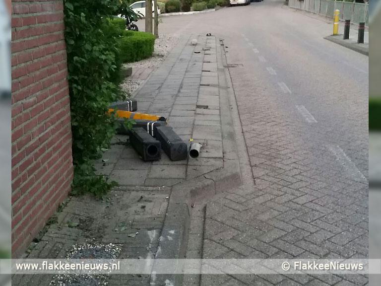 Foto behorende bij Dronken bestuurder veroorzaakt chaos in Den Bommel