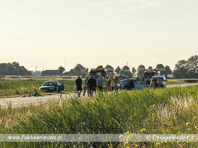 Foto behorende bij Verkeershinder door ongeval N215