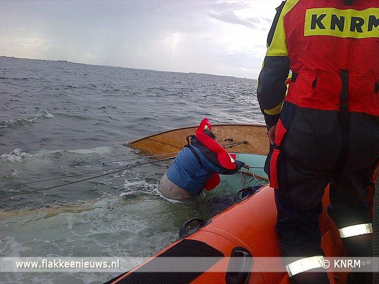 Foto behorende bij Drie levens gered door KNRM Ouddorp