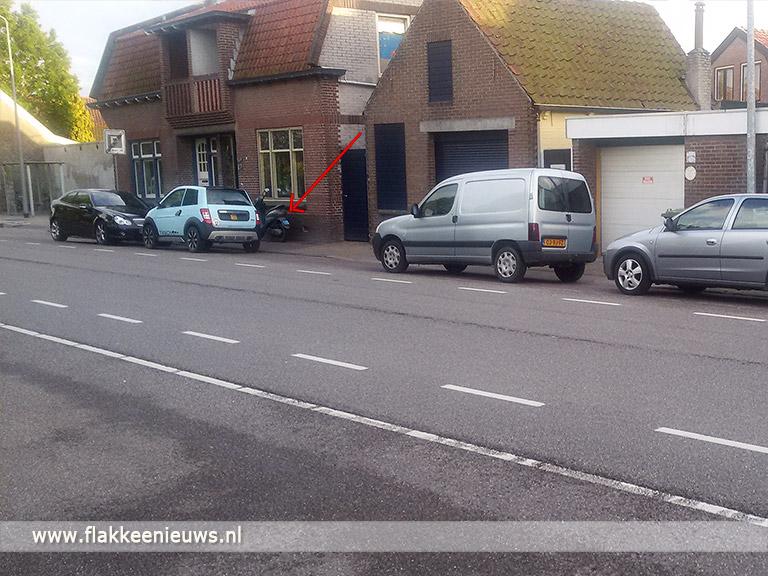 Foto behorende bij Gezocht: Getuigen scooterdiefstal en eigenaar aanhangwagen