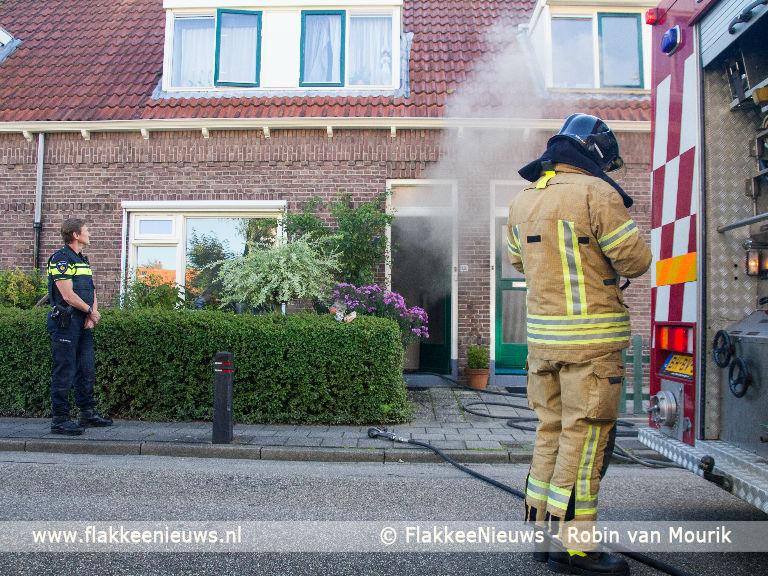 Foto behorende bij Huisdier overleden bij woningbrand
