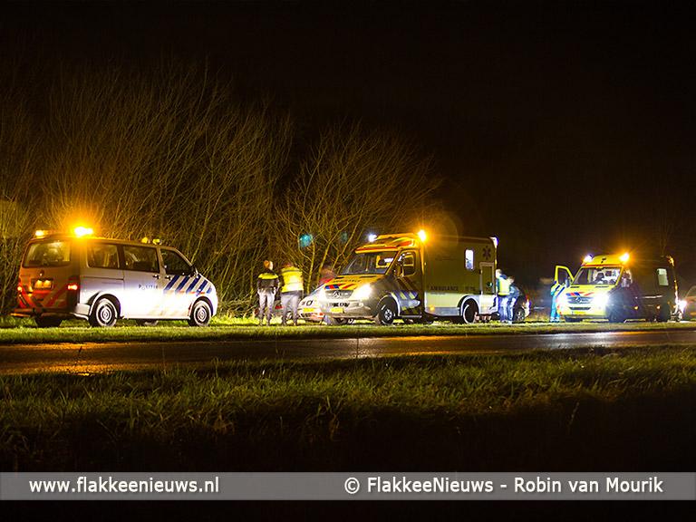 Foto behorende bij Bestuurder gewond bij ongeval N215