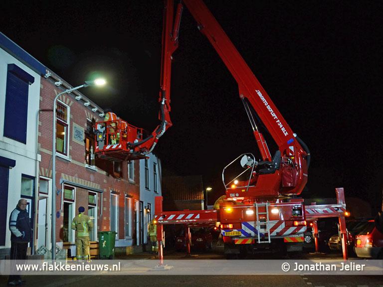 Foto behorende bij Brandweer helpt collega