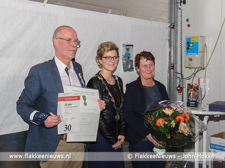 Foto behorende bij Brandweerman Dorsman ontvangt Koninklijke Onderscheiding
