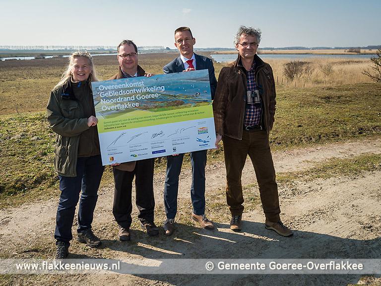 Foto behorende bij Unieke samenwerking voor een natuurlijke en aantrekkelijke Noordrand Goeree-Overflakkee