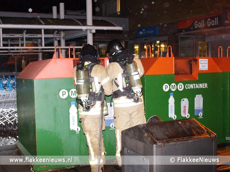 Foto behorende bij Drukke avond voor de brandweer