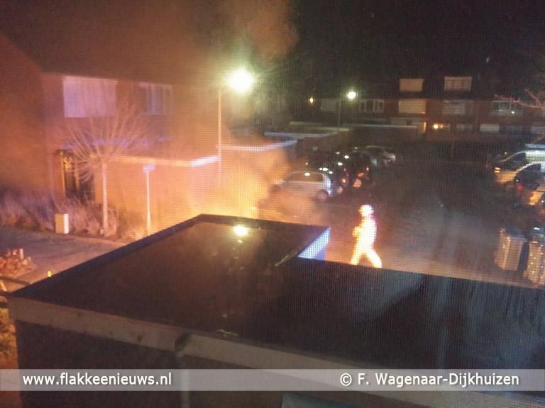 Foto behorende bij Brandstichting houdt aan in Sommelsdijk