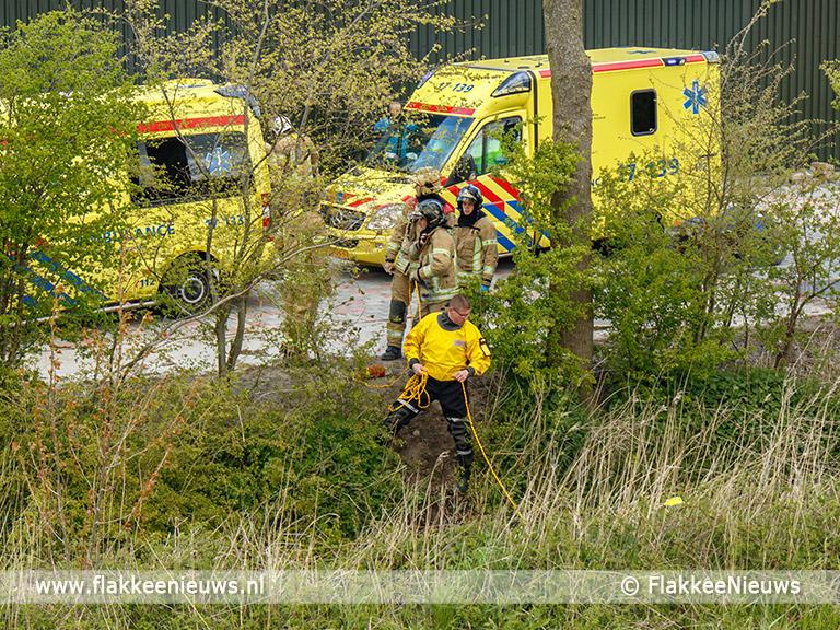 Foto behorende bij Quadrijder ernstig gewond door ongeval nabij Herkingen