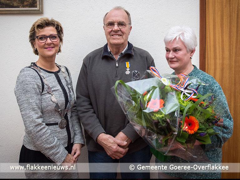 Foto behorende bij Vijf inwoners van Goeree-Overflakkee Koninklijk onderscheiden