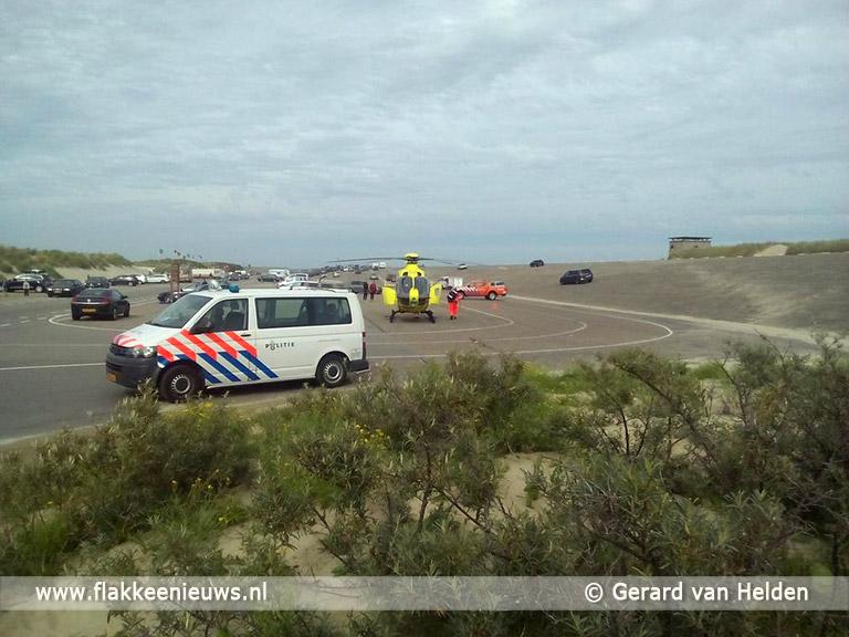 Foto behorende bij Meerdere gewonden bij ongeval Brouwersdam