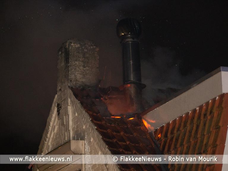 Foto behorende bij Brand in woning Marietjespad Middelharnis