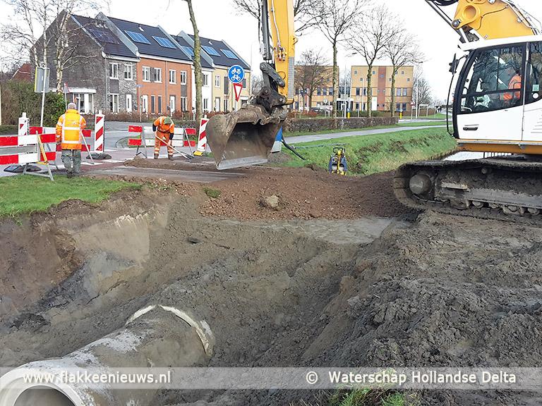 Foto behorende bij Wateraanvoerplan Middelharnis gereed