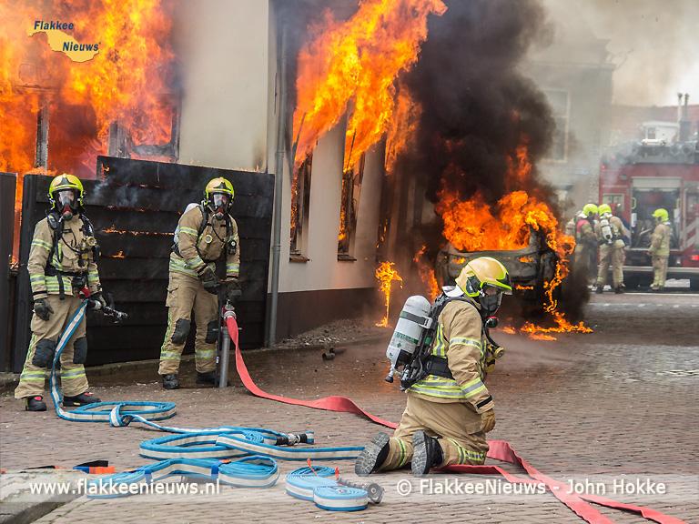 Foto behorende bij Grote brand in Ooltgensplaat