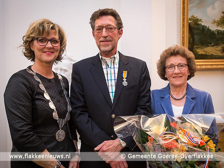 Foto behorende bij Rinus van Dam uit Dirksland Koninklijk onderscheiden