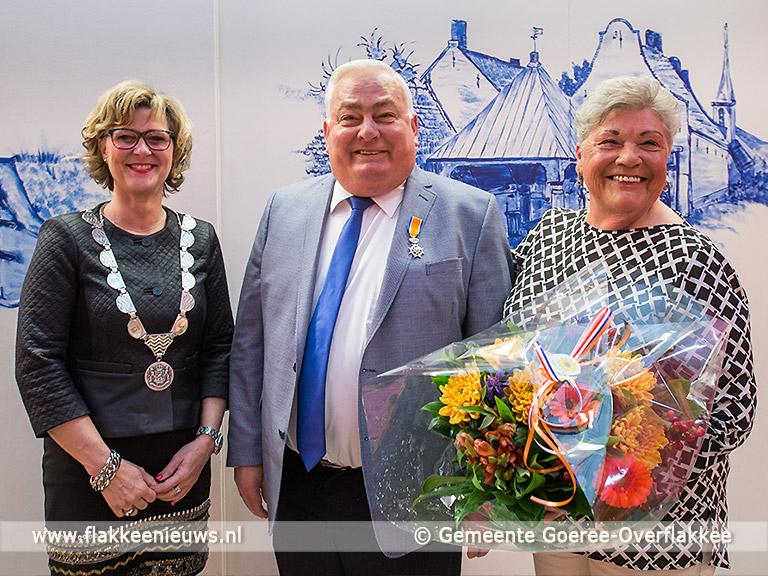 Foto behorende bij Jan Tuinstra uit Herkingen ontvangt een Koninklijke Onderscheiding