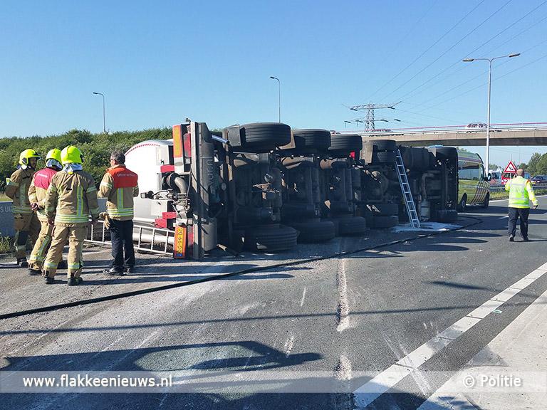 Foto behorende bij Afsluiting N59 Hellegatsplein door ongeval