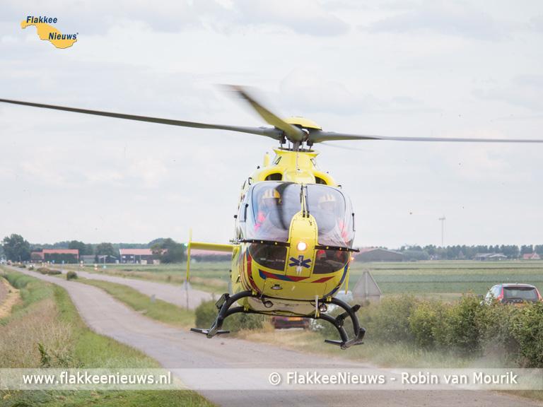 Foto behorende bij Fietsster zwaargewond bij ongeval Ooltgensplaat