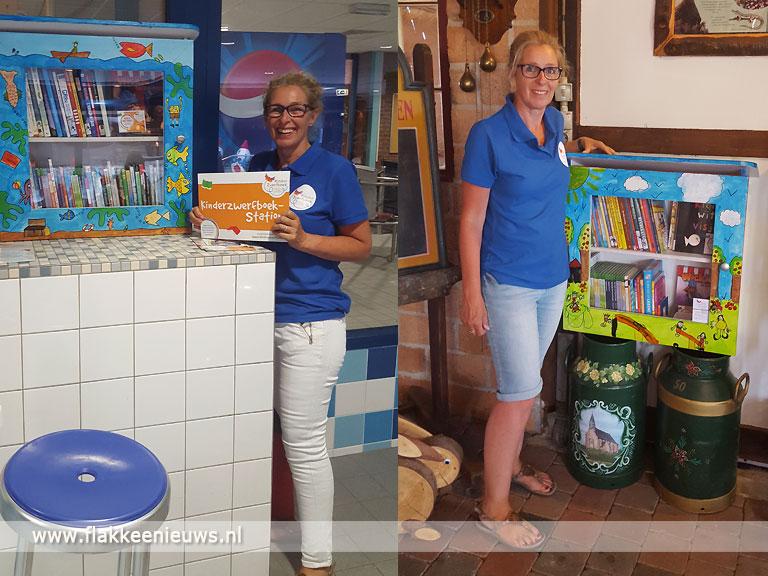Foto behorende bij Nieuwe kinderzwerfboekStations geopend