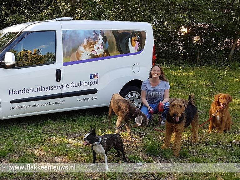 Foto behorende bij Nieuwe hondenuitlaatservice in Ouddorp geopend