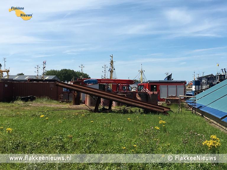 Foto behorende bij Brand in machinekamer bij Maaskant Shipyards Stellendam