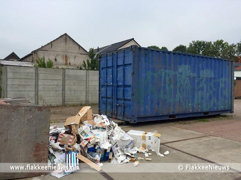 Foto behorende bij Flakkeese papierinzamelaar straks zonder werk