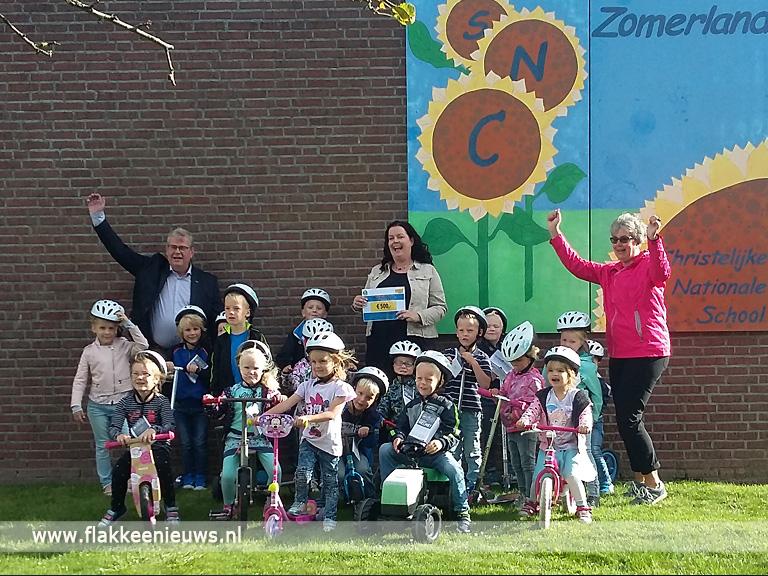 Foto behorende bij Gemeente beloont basisscholen project Cycling4School
