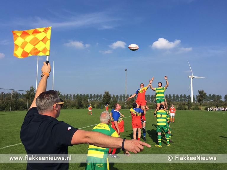 Foto behorende bij Rugby nieuwe zondagssport op Flakkee