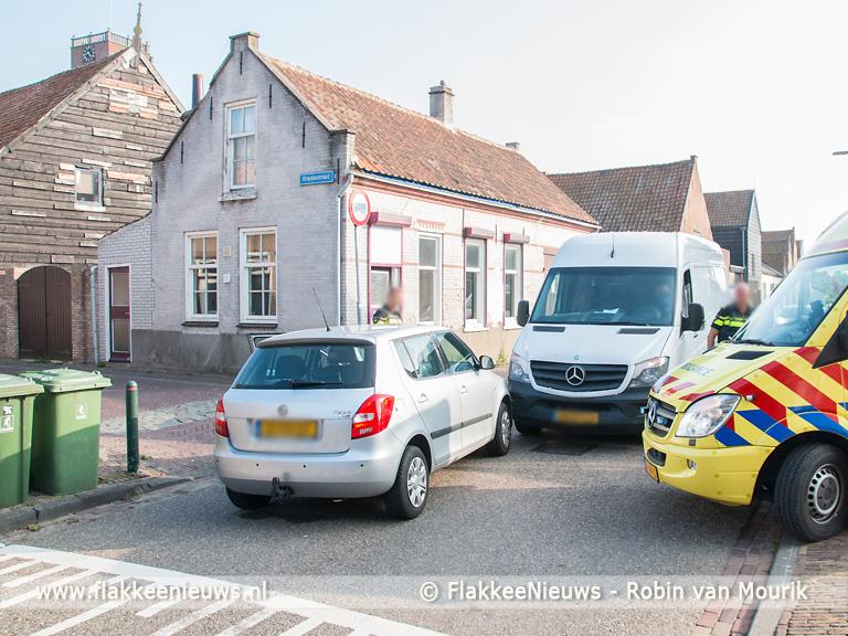 Foto behorende bij Gewonde bij ongeval in Sommelsdijk