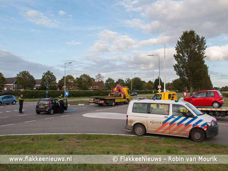 Foto behorende bij Spitsverkeer last van ongeval op N215