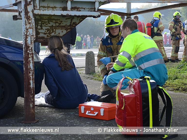 Foto behorende bij Brandweer Nieuwe-Tonge eerste bij eilandelijke brandweerwedstrijd
