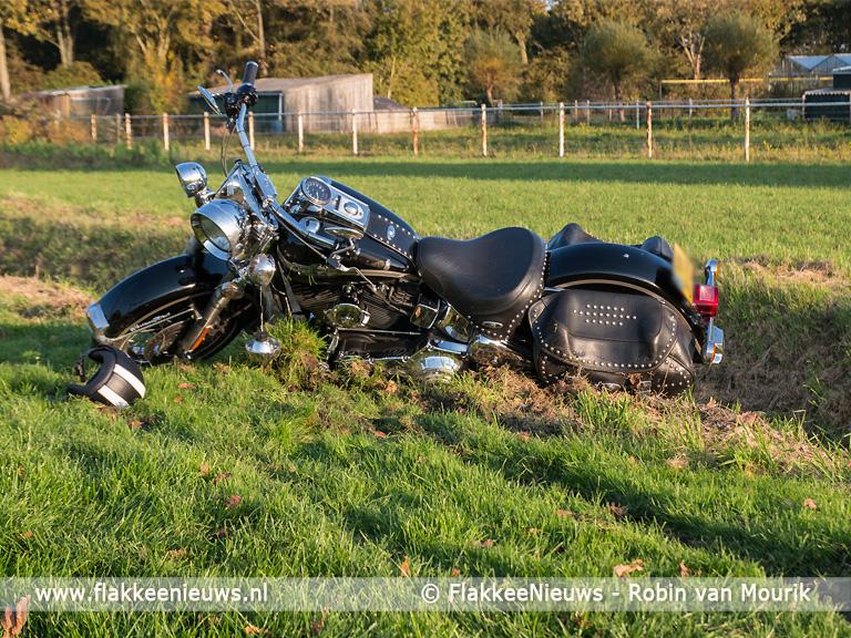 Foto behorende bij Ongeval met twee motoren In Middelharnis