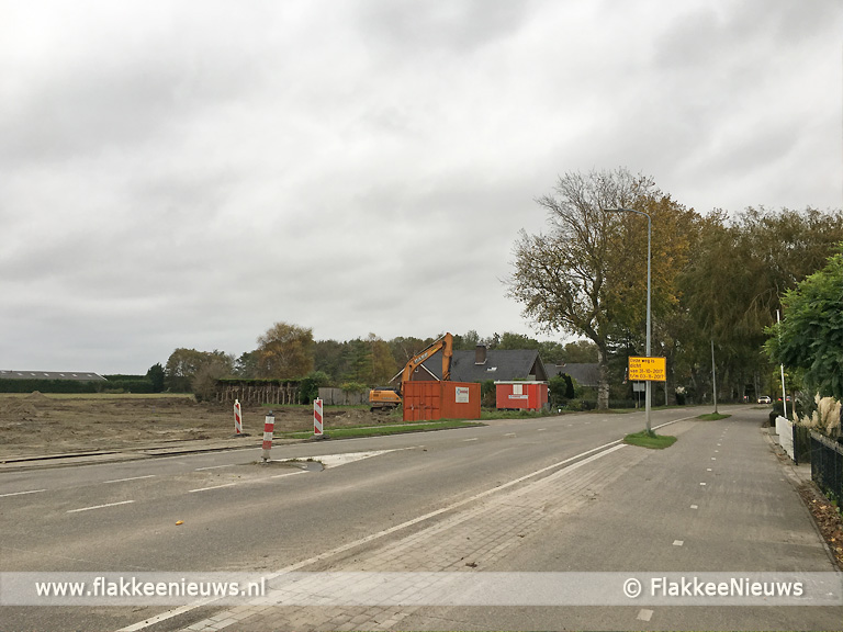 Foto behorende bij Verkeershinder Korteweegje Dirksland