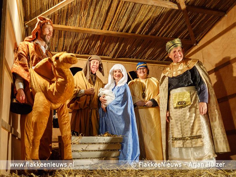 Foto behorende bij Geslaagde kinderkersttocht Van Nazareth naar Bethlehem