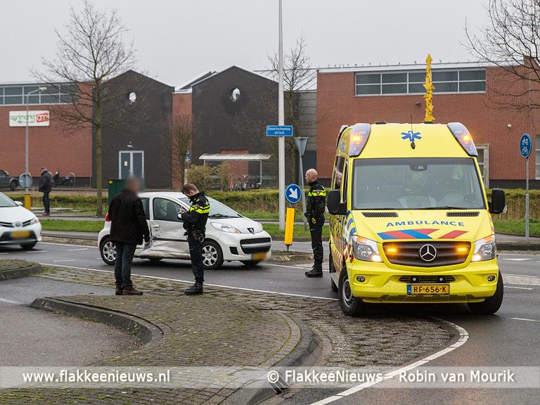 Foto behorende bij Ongeval Rottenburgseweg Middelharnis