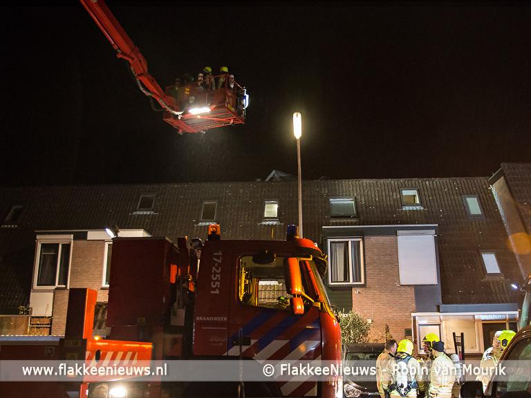 Foto behorende bij Brandweer rukt uit voor schoorsteenbrand in Sommelsdijk