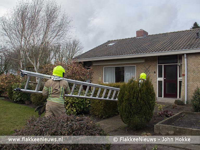Foto behorende bij Vonken uit schoorsteen in Ooltgensplaat
