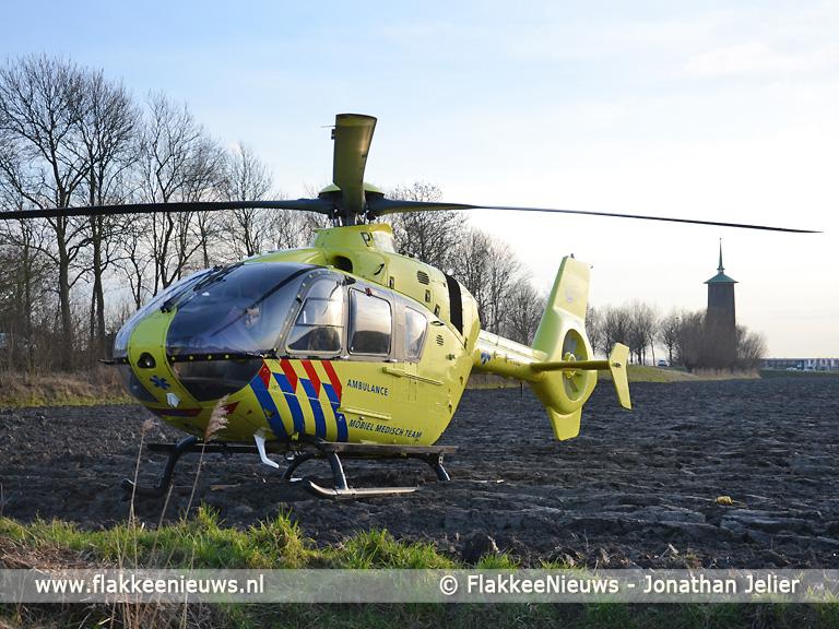 Foto behorende bij Slachtoffer aanrijding Dirksland overleden
